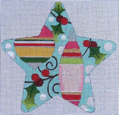 Ornaments & Holly ~ Raymond Crawford Designs