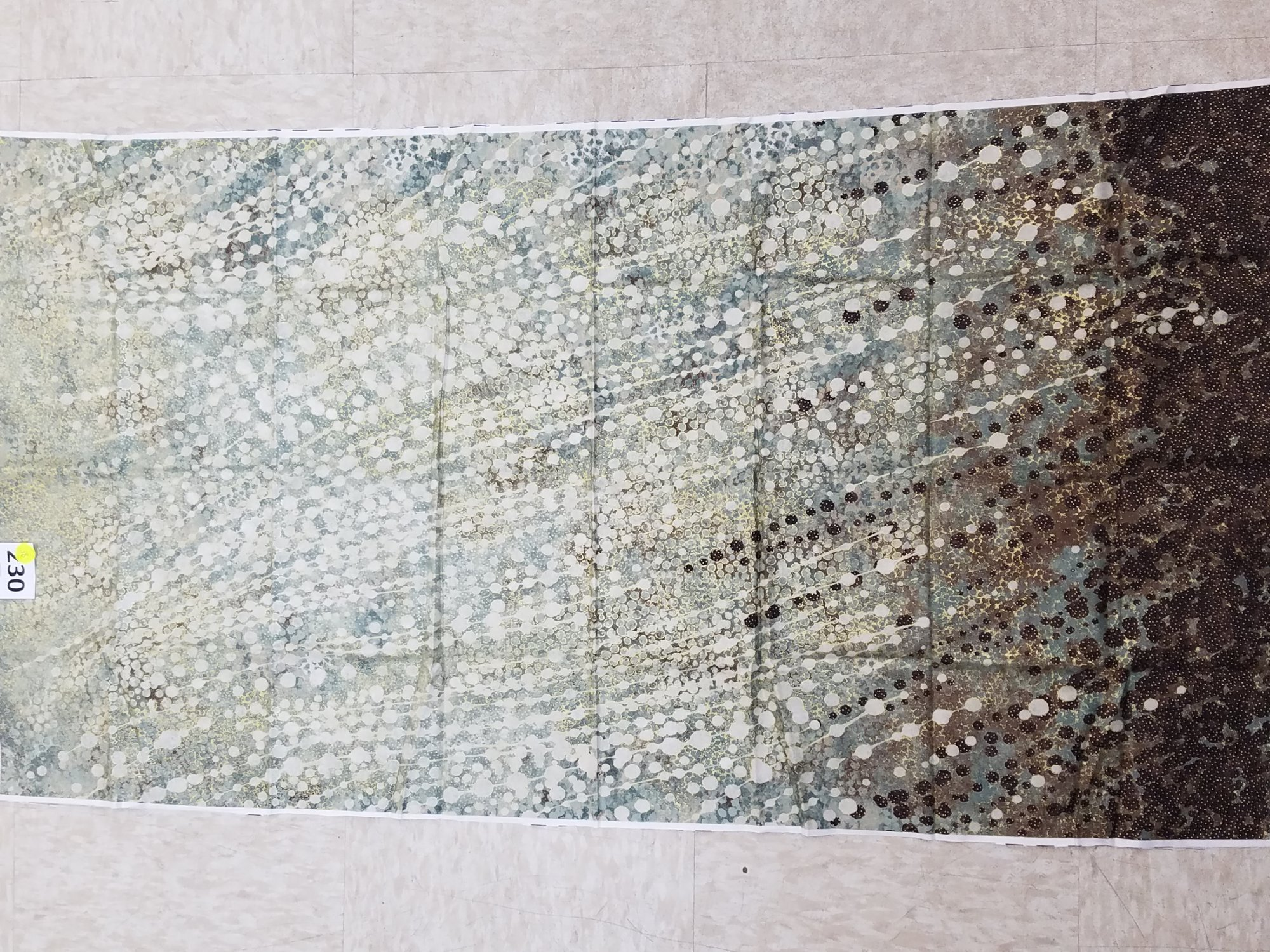 panel 230 shimmer echos green/brown