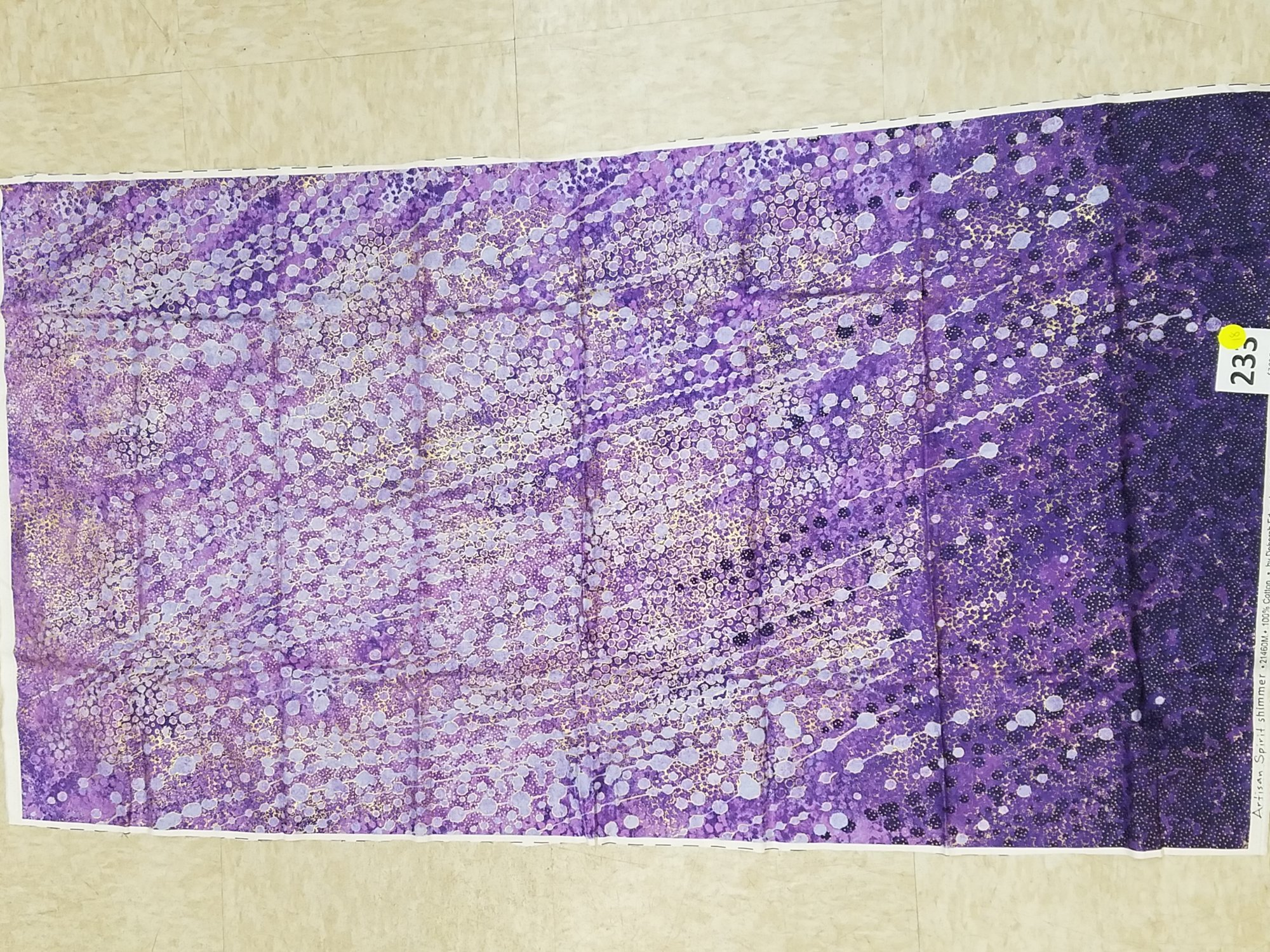 Panel 233 shimmer echos purple