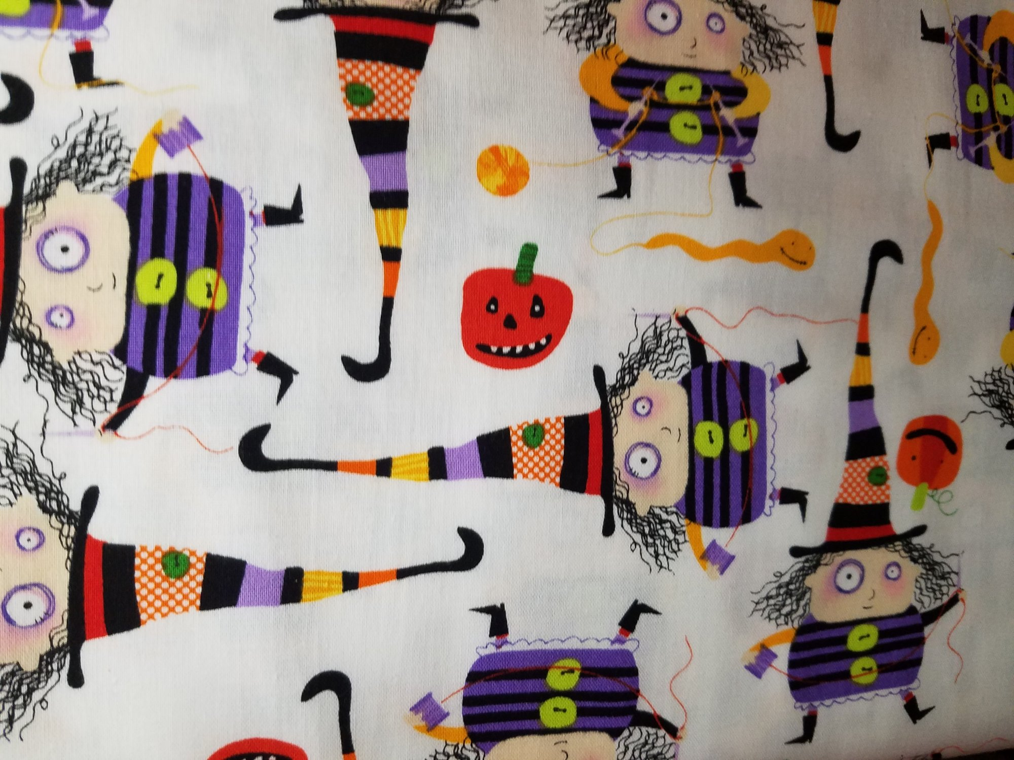 Stitchy Witchy Haunts Bright