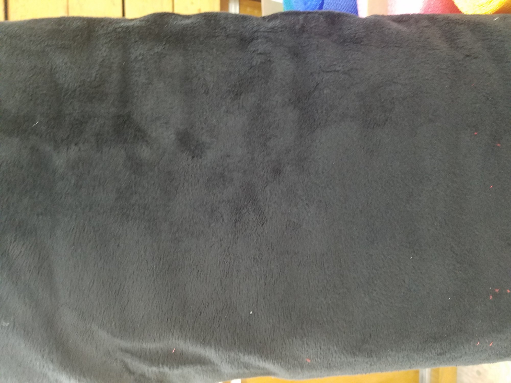 Extra Wide Solid Cuddle  3 Black 88/90