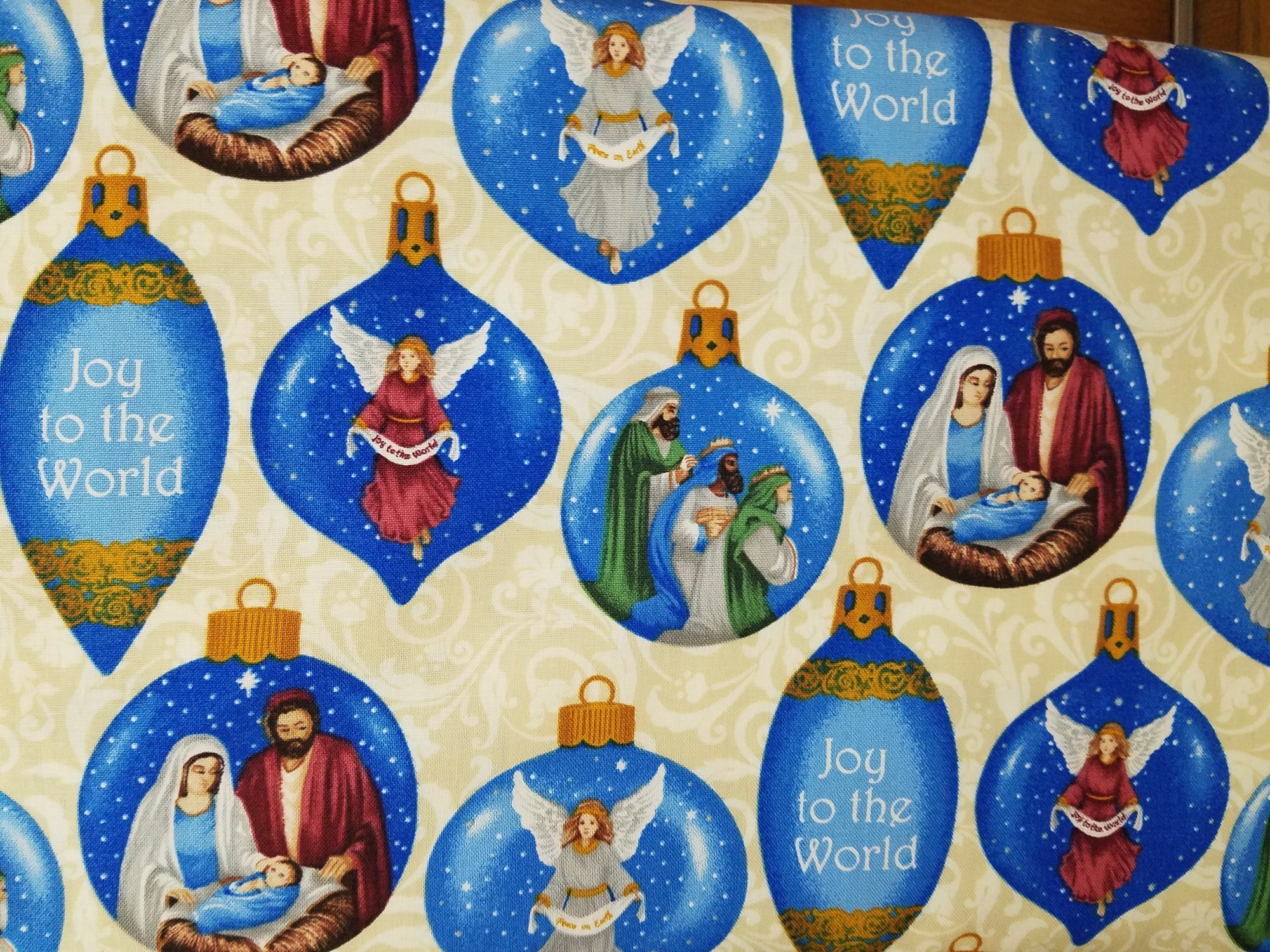 Silent Night Nativity Bulbs