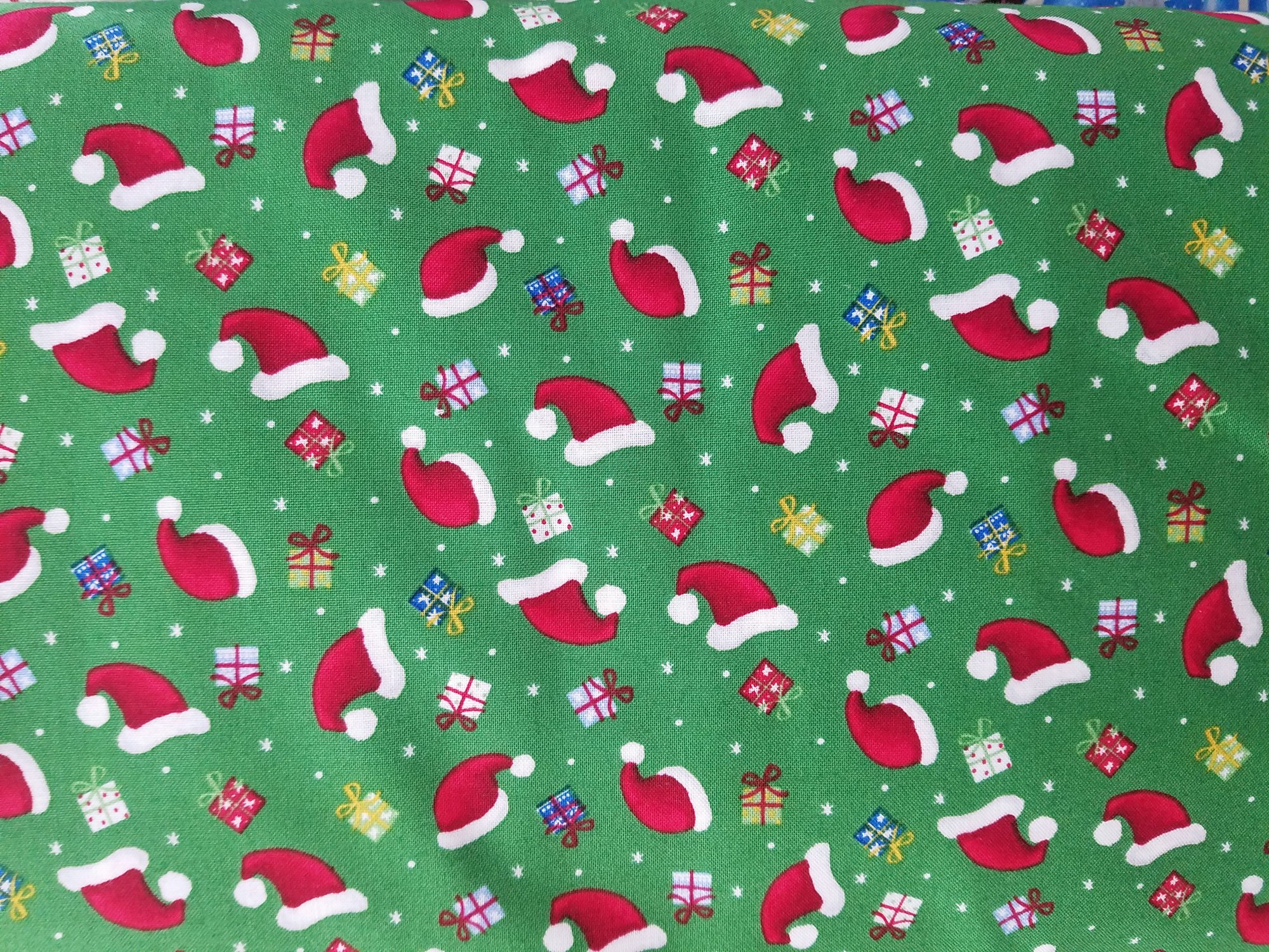 Santa's Little Helpers-Hats and Gifts