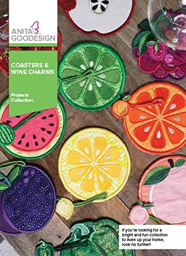 Coasters & Wine Charms Proj105