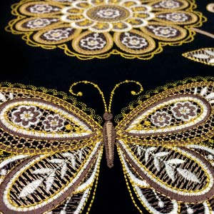 Metallic Lace