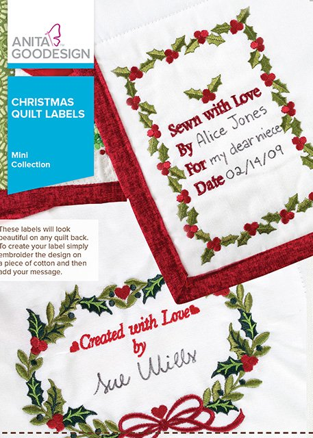 Christmas Quilt Labels