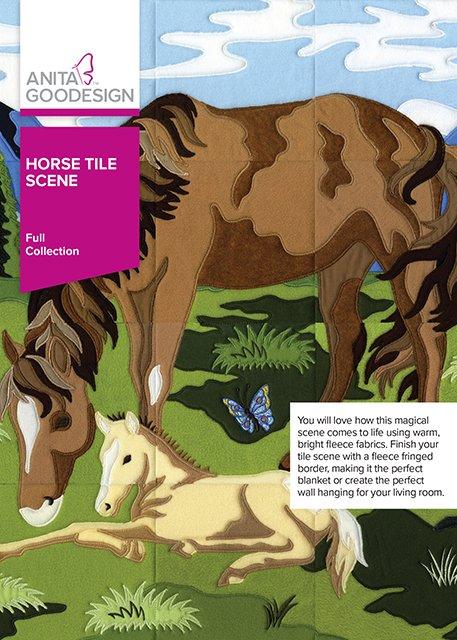 Horse Tile Sene