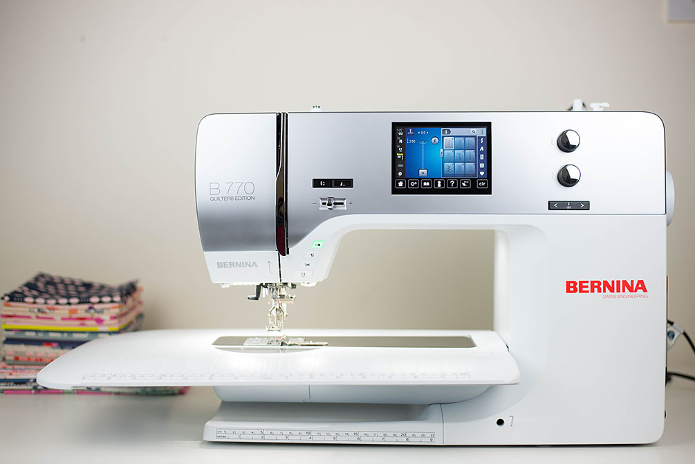 Used Bernina 770QE