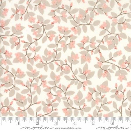 Bayberry Vine Cloud Blossom 13161 16 by Kate Birdie Paper Co for Moda