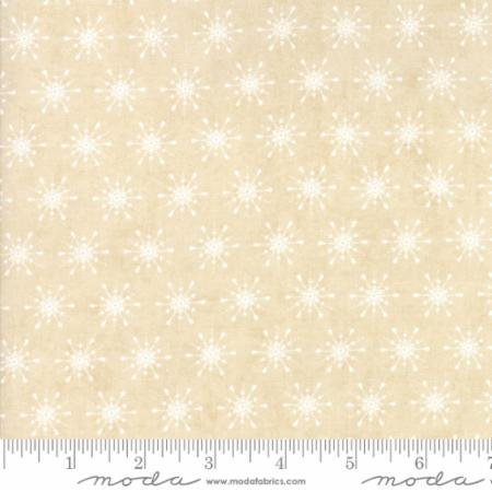 Berry Merry Cream Snowflakes 30475 11 by BasicGrey for Moda