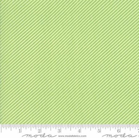 Bonnie Camille Basic Scrumptious Stripe Green 55071 34 by Bonnie & Camille for Moda
