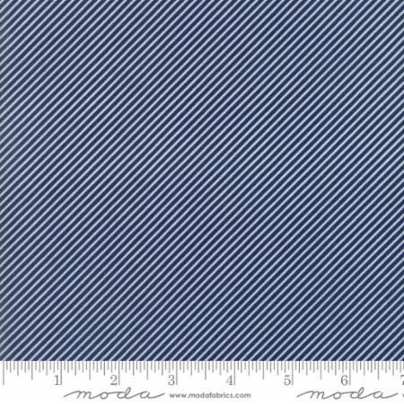 Bonnie Camille Basic Scrumptious Stripe Navy 55071 37 by Bonnie & Camille for Moda