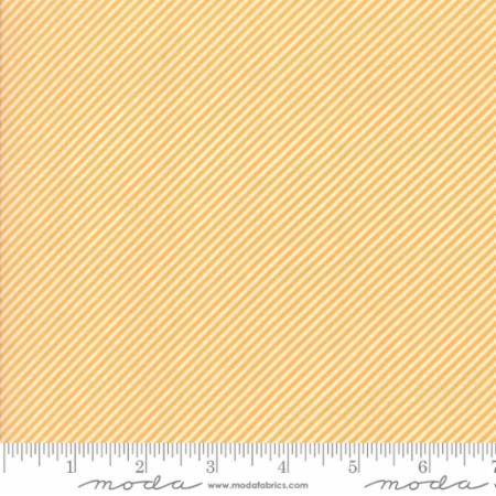 Bonnie Camille Scrumptious Stripe Orange 55071 33 by Bonnie & Camille for Moda