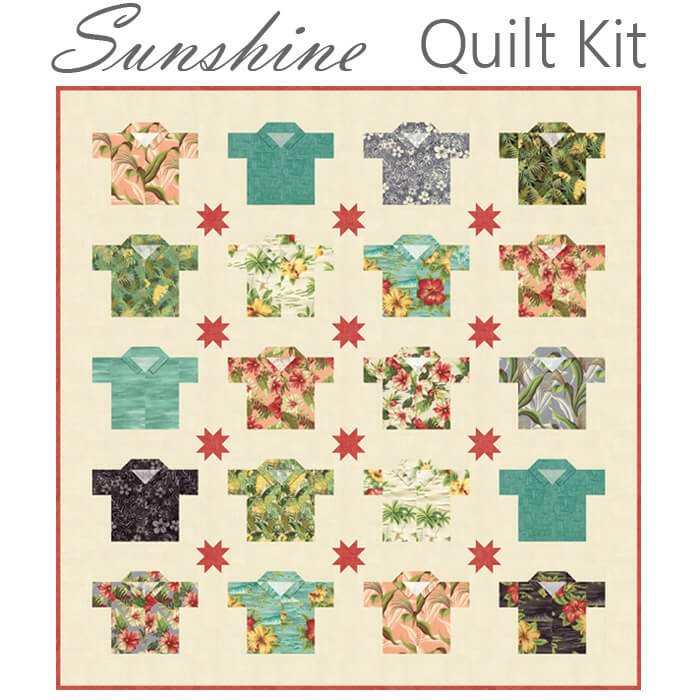 Collections Sunshine Quilt Kit KIT46240 by Howard Marcus