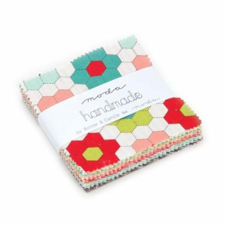 Handmade TREAT 3.5 squares by Bonnie & Camille for Moda