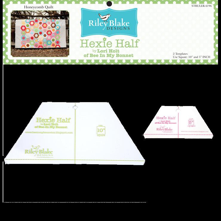 Hexie Half 10 Ruler