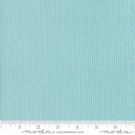 Hometown Christmas Icey Aqua Tinsel 5663 26 Moda by Sweetwater for Moda