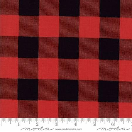 Hometown Christmas Red Buffalo Plaid 5667 22 Moda by Sweetwater for Moda
