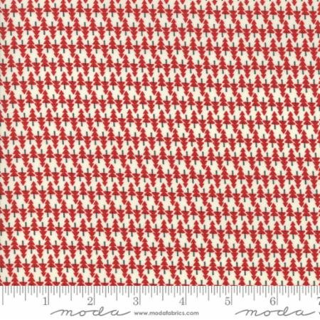 Hometown Christmas Red Spruce Trees 5664 12 Moda by Sweetwater for Moda