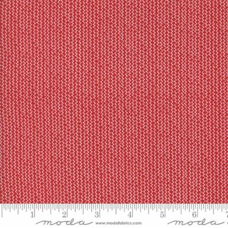 Hometown Christmas Red Tinsel Stripe 5663 22 Moda by Sweetwater for Moda