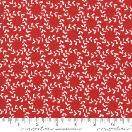 Hometown Christmas Red Wreath 5662 22 Moda by Sweetwater for Moda