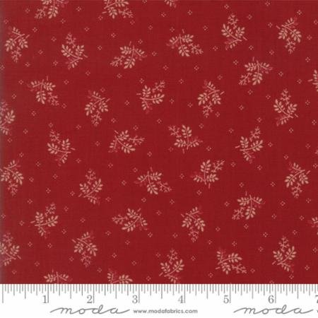 Liberty Gatherings Red Branches 1202 12 by Primitive Gatherings for Moda