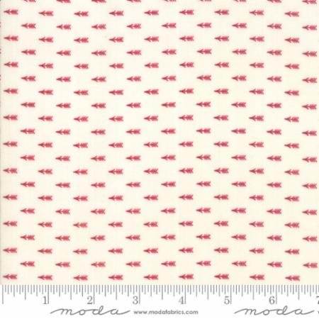 Liberty Gatherings Tallow Red Arrows 1208 21 by Primitive Gatherings for Moda