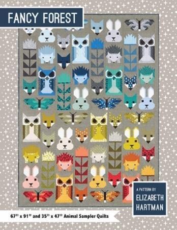 Fancy Forest EH 023 Pattern By Elizabeth Hartman