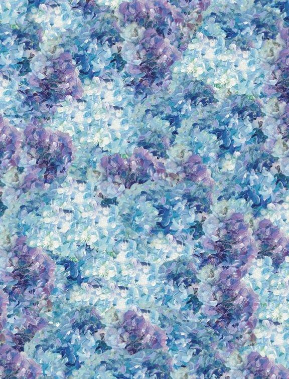 Flower Market by Danjui Nai Hydrangeas Blue