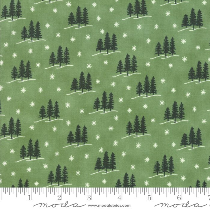 Holiday Lodge Evergreen 19895 13 Deb Strain for Moda