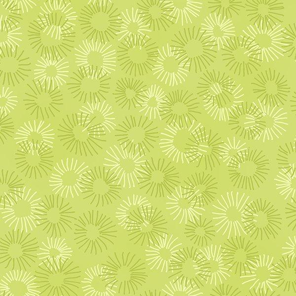 Hopscotch Deconstructed Dandelions Sage 3219-010