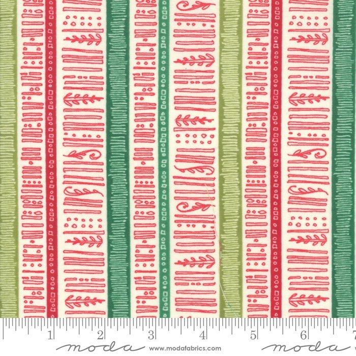 Splendid Cream Stripe by Robin Pickens 48654 11 Moda