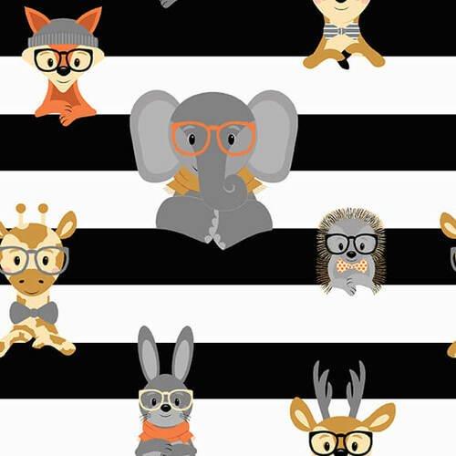 Wild and Free-Stripe by Jessica Mundo
