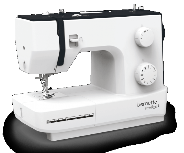 Bernette SewnGo Mechanical Sewing Machine Mesmerizing White Sewing Machine Model 622