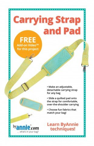 By Annie Carrying Strap and Pad Pattern