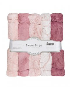 Cuddle Luxe Strips-Rose 5 strips 10 X 60