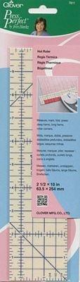 Hot Ruler Press Perfect Clover Needlecraft Inc. Press hems and mitered corners
