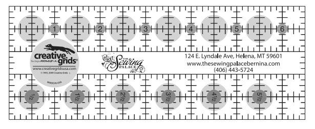Creative Grids Palace Ruler