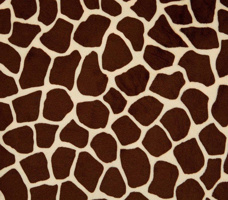 Giraffe Cuddle Butter/Brown 58/60 100% Polyester
