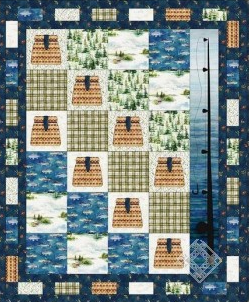 Gone Fishing' Quilt
