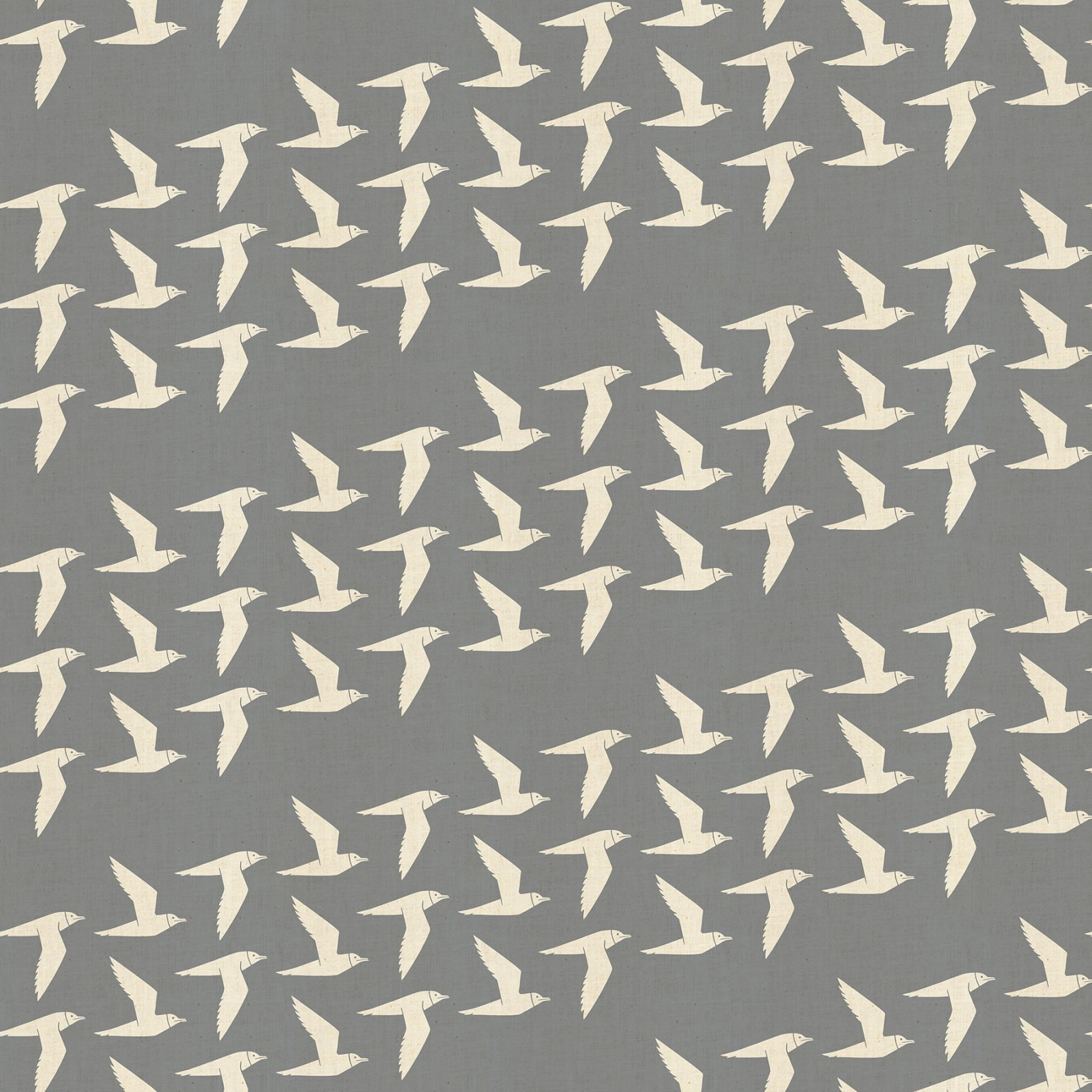 Cotton and Steel Loes Van Oosten By the Seaside Fly Along Fog LV103-FO3U