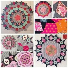 Learn the art of hand piecing
