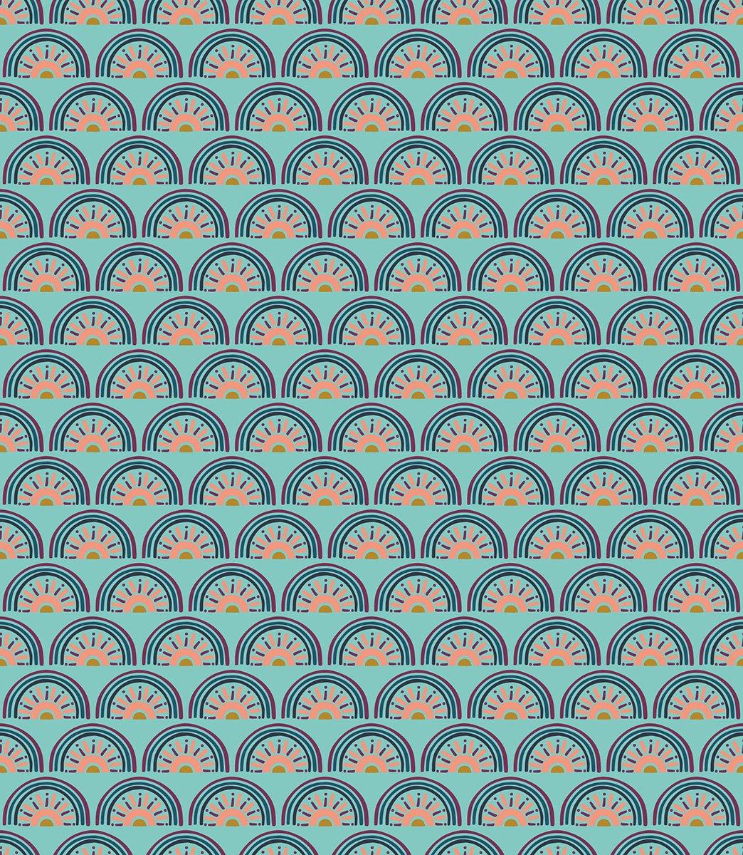 Cotton and Steel Sahara Favorite Color Aqua MP104-AQ2