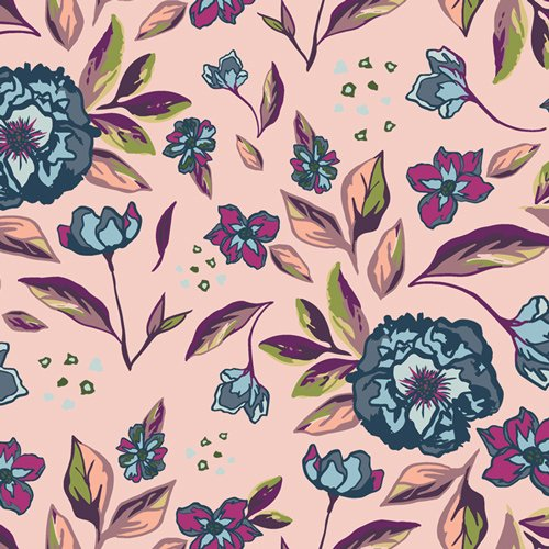 MSL-13960-Mystical-Land-Enchanted-Flora-Ablush by Art Gallery Fabrics