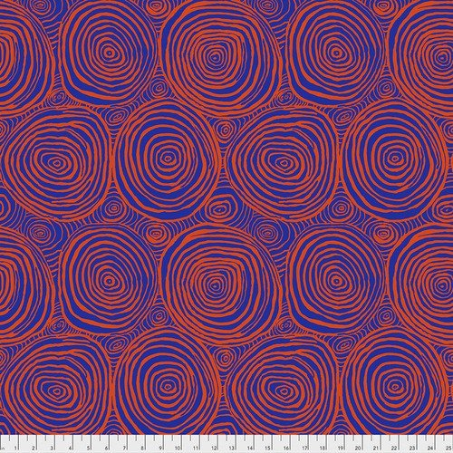 Brandon Mably for Kaffe Fassett Collective Onion Rings - Tomato