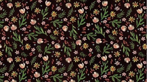 Woodland Fairytale by August Wren Ditsy Floral Multi Stella-DAW1449