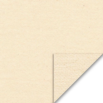Sueded French Terry Knit 100% cotton Natural 1242