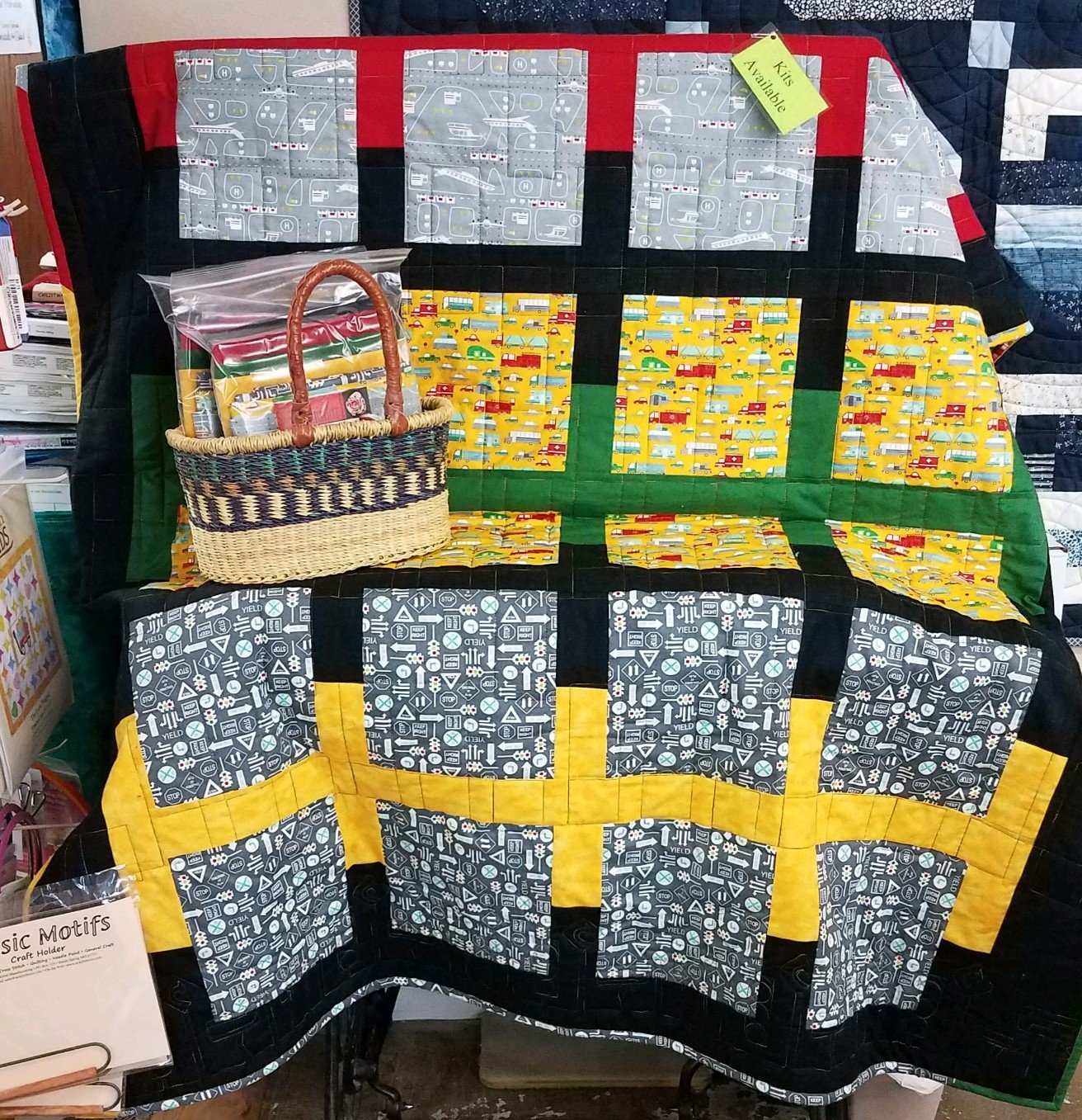 On The GO Quilt 55 X 70
