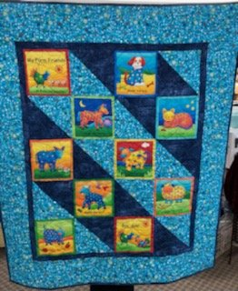 Animal Farm Quilt 36X42