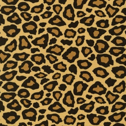 Fabric - 100% Cotton - Leopard